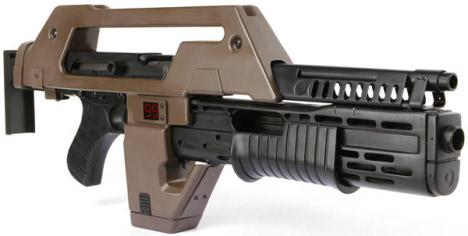 Aliens Pulse Rifle Replica For $900