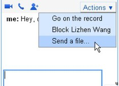 File transfer now available in Google Chat
