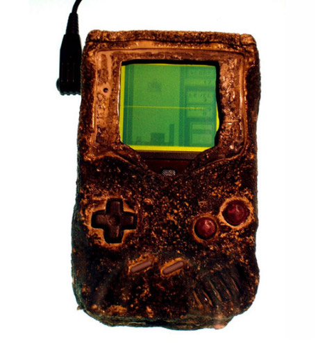 Nintendo Game Boy Survives A Bombing Attack During The Gulf War
