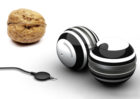 Concept: Walnut MP3 Player