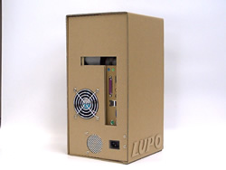 Cardboard PC Case by Lupo