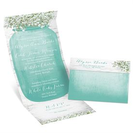 Seal And Send Wedding Invitations Baby S Breath Invitation