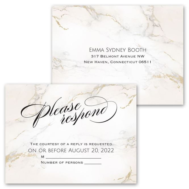 Whom My Soul Loves Invitation With Free Response Postcard