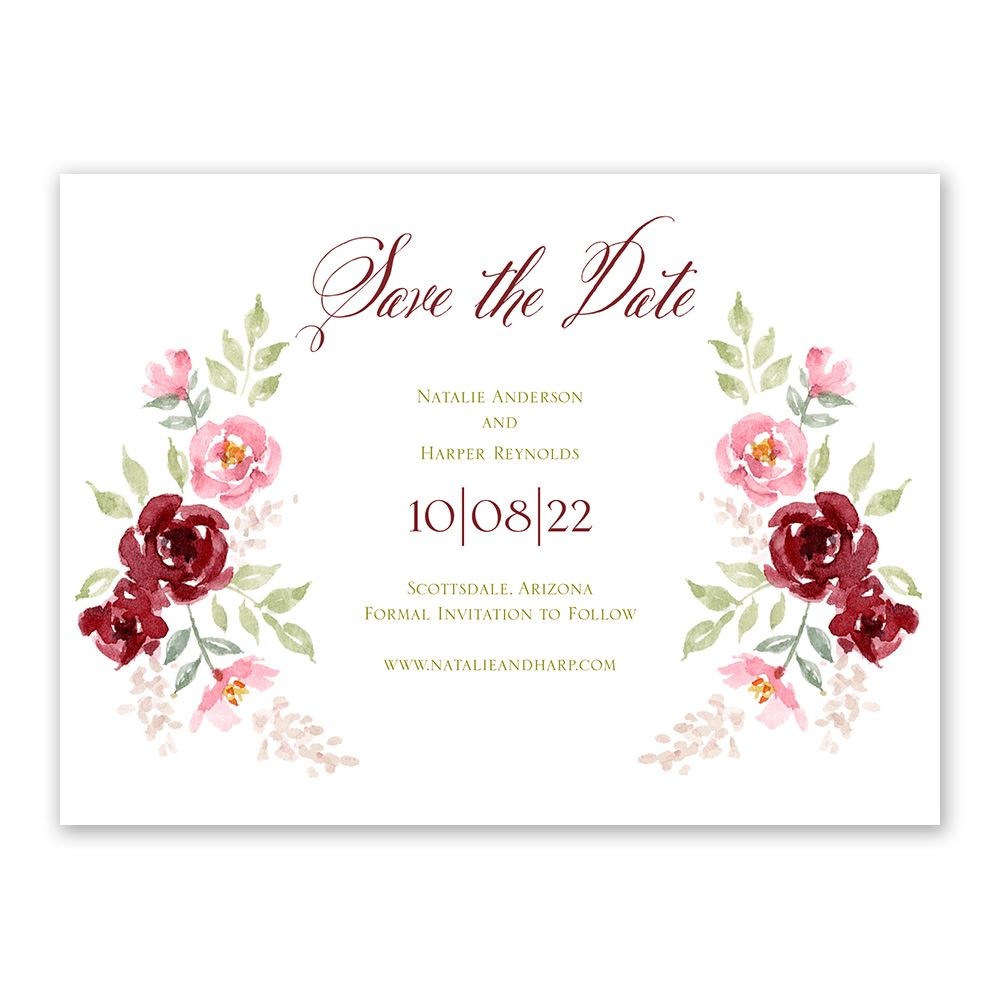 Save Date Wedding Cards