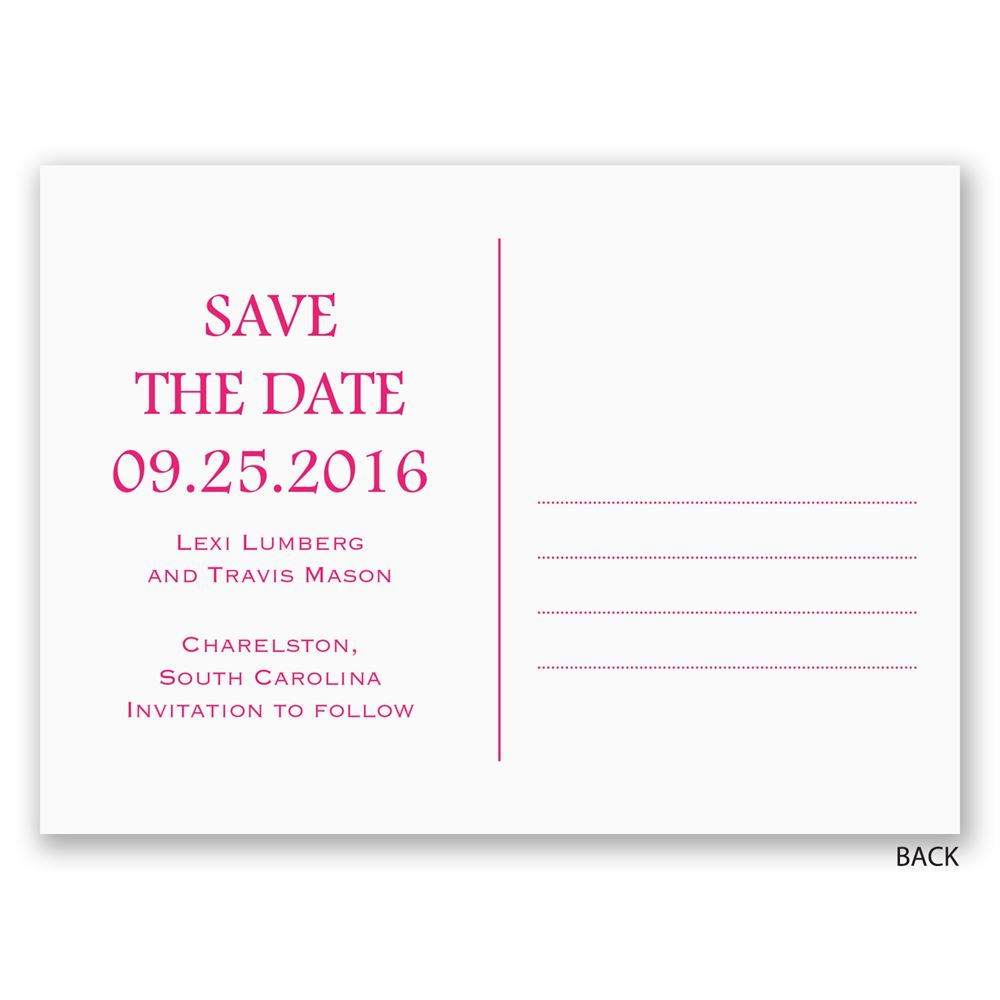 Baptism Postcard Invitations