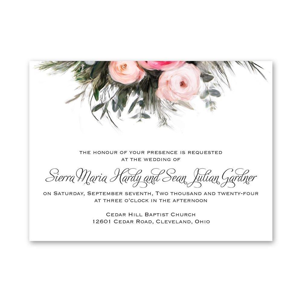 Ethereal Garden Petite Invitation Invitations By Dawn