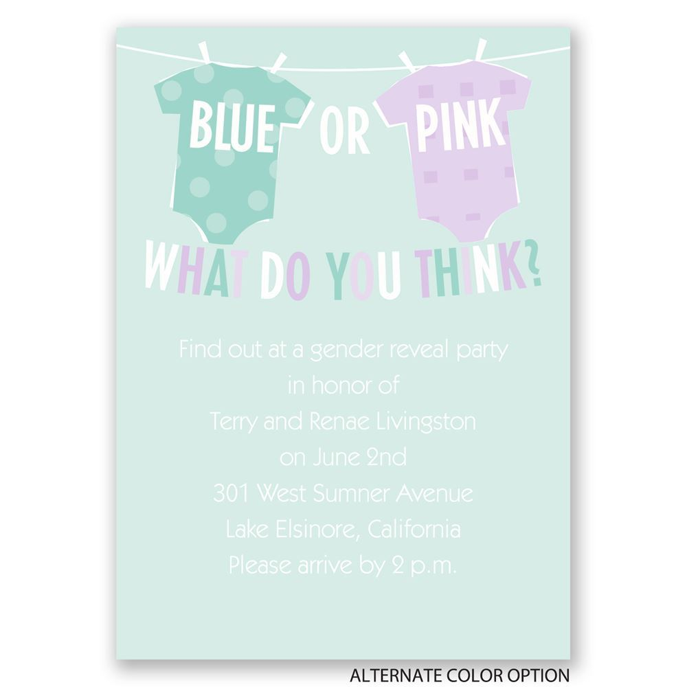 Baby Shower Invitations Simple