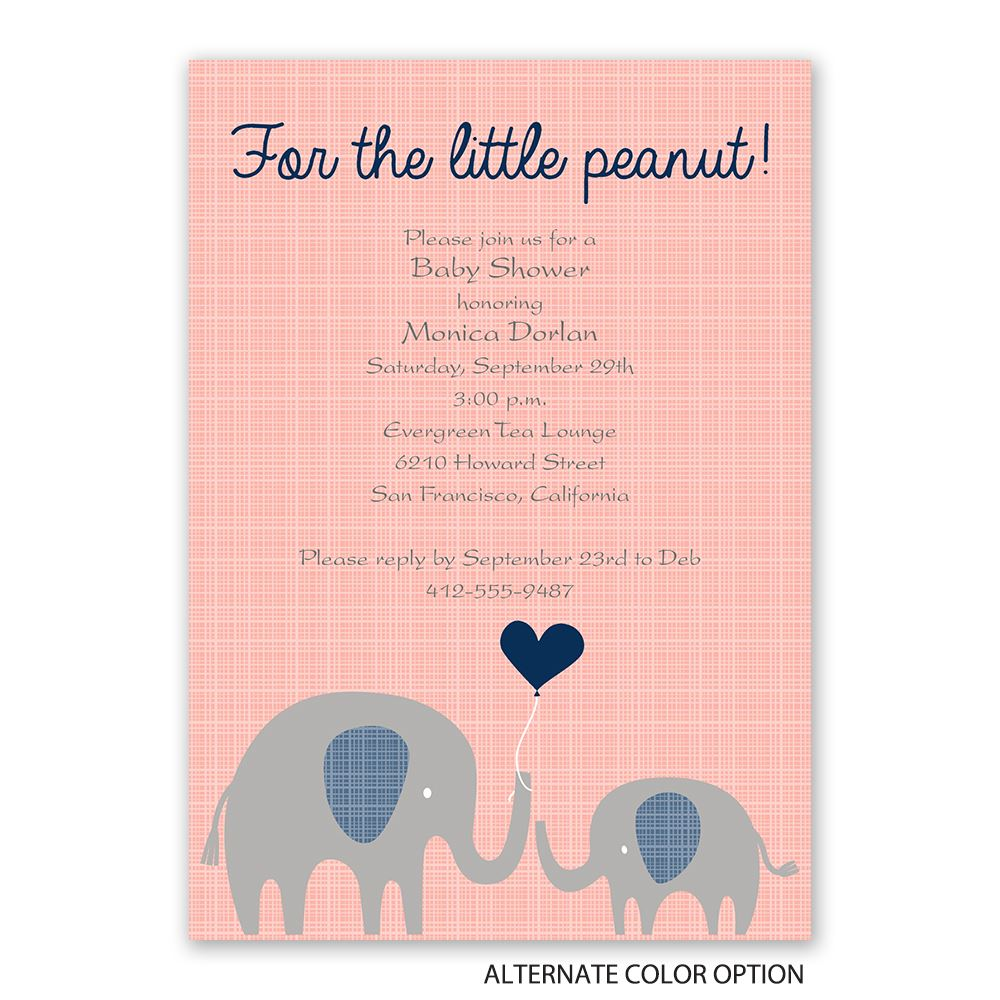 Baby Number 3 Shower Invitations