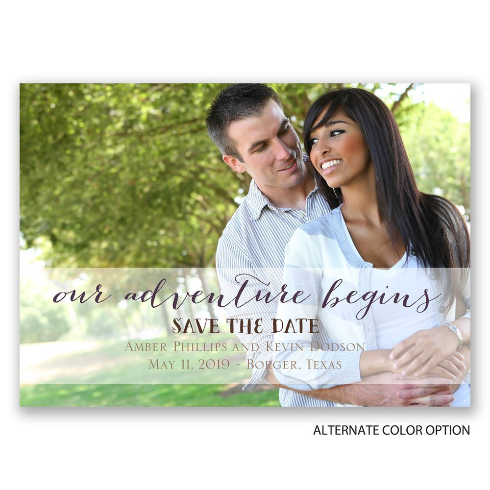 Our Adventure Save The Date Magnet Invitations By Dawn