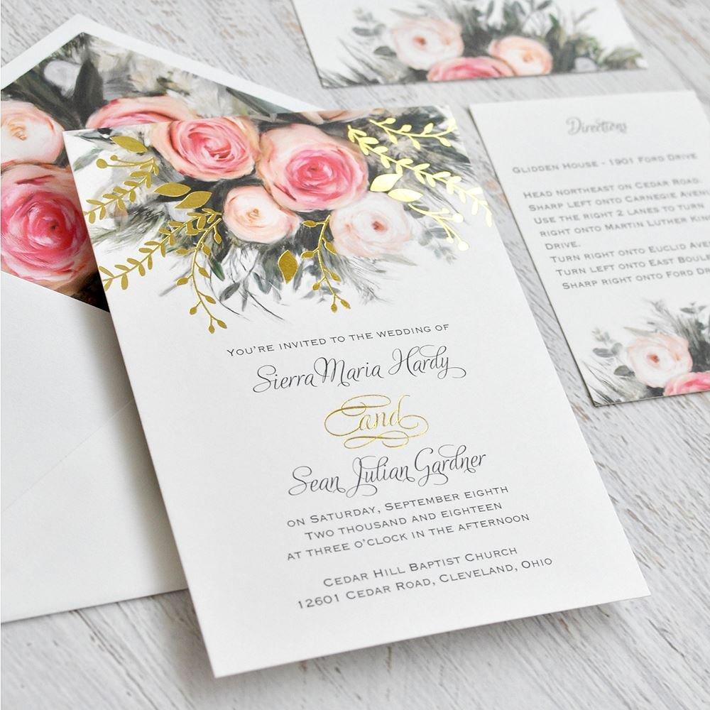 Rustic Wedding Announcements