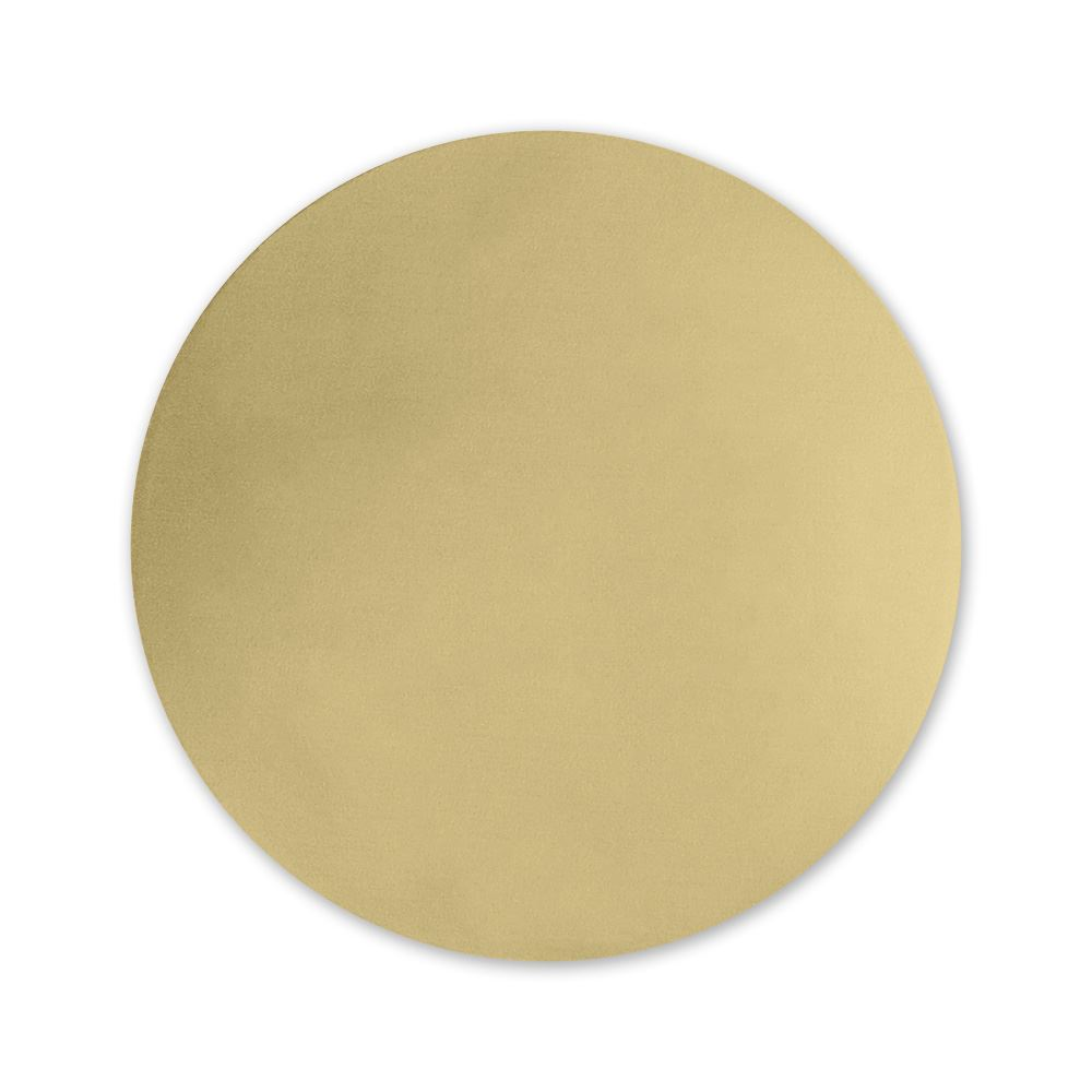 Round Foil Seal Gold Invitations By Dawn