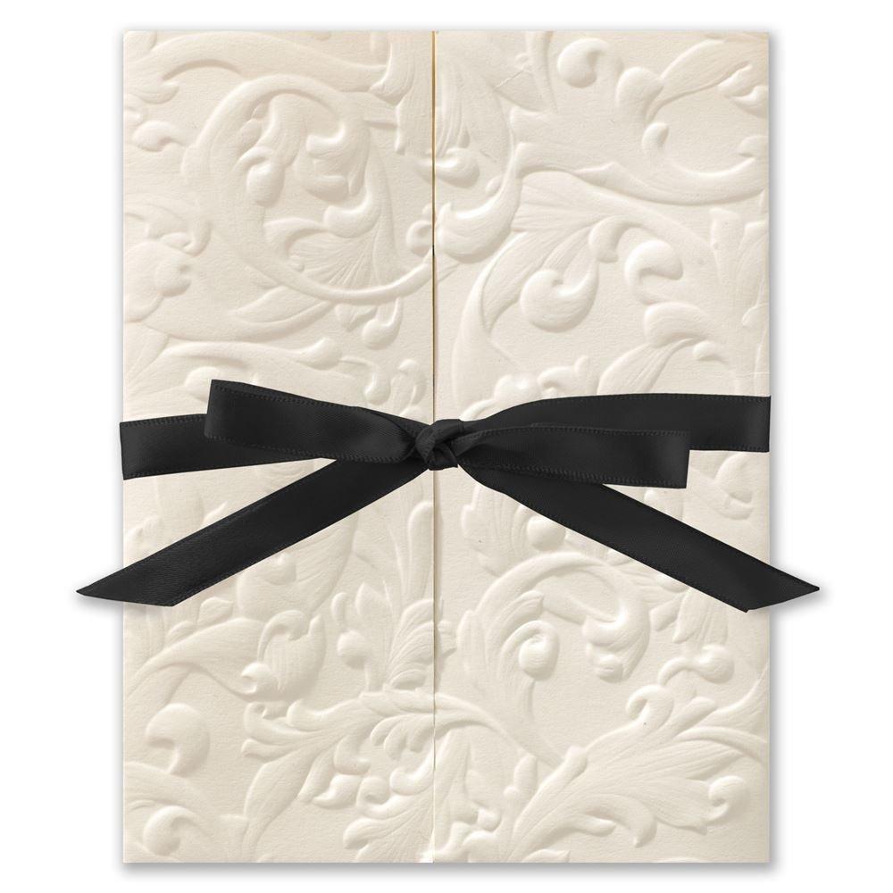 Rustic Paper Wedding Invitations