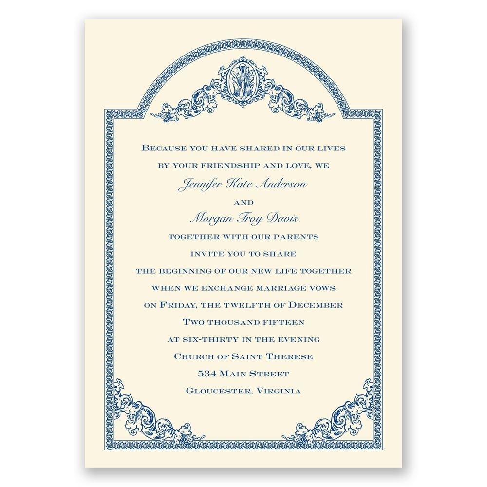 Vintage Victorian Invitation Invitations By Dawn