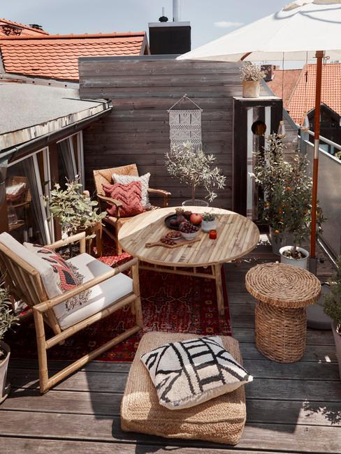 salon de terrasse ou de balcon les