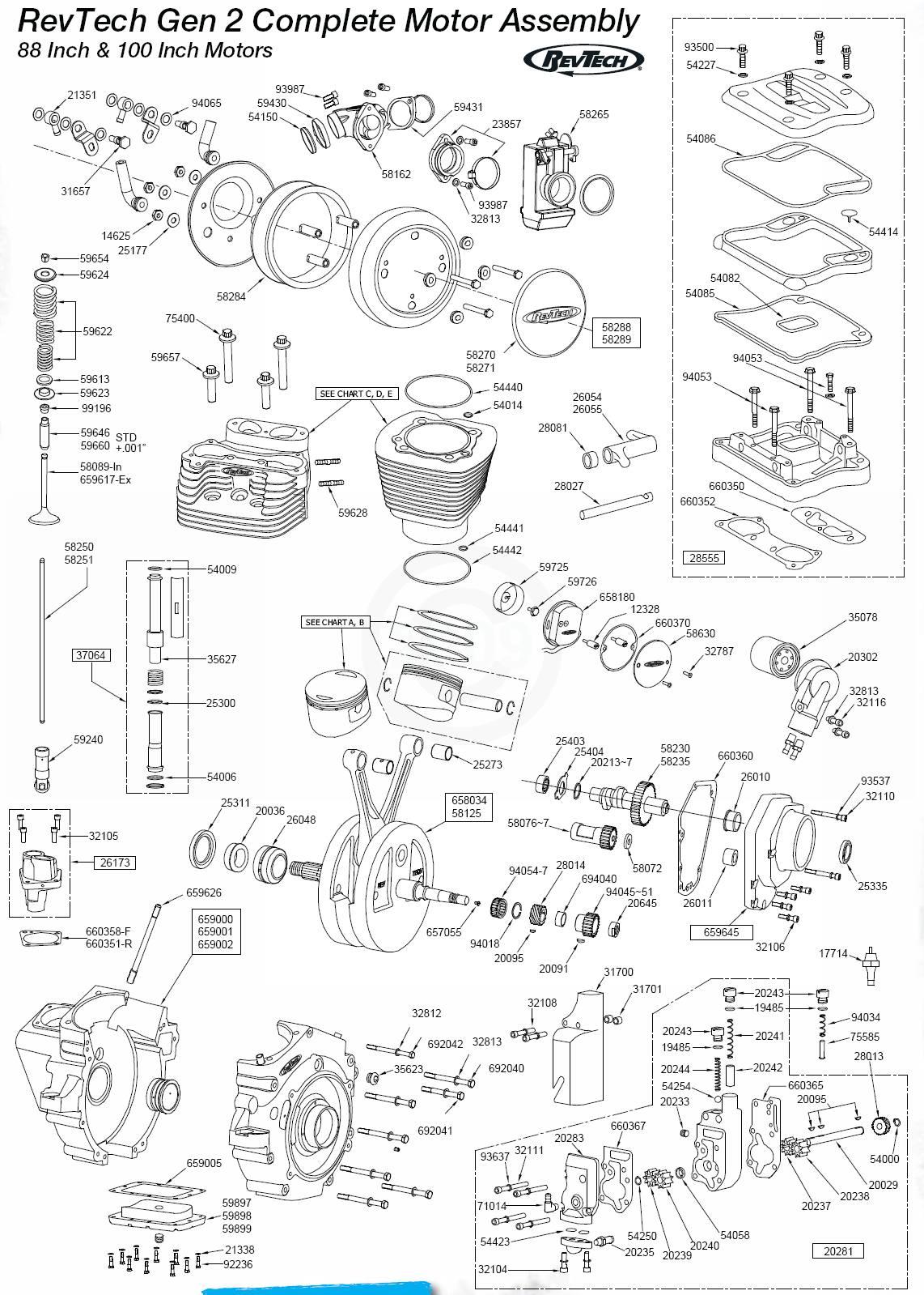 Revtech Engine Parts