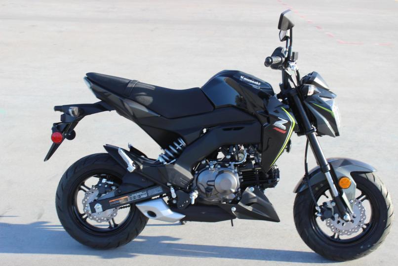 Scrambler Kawasaki Z125 Reviewmotorsco