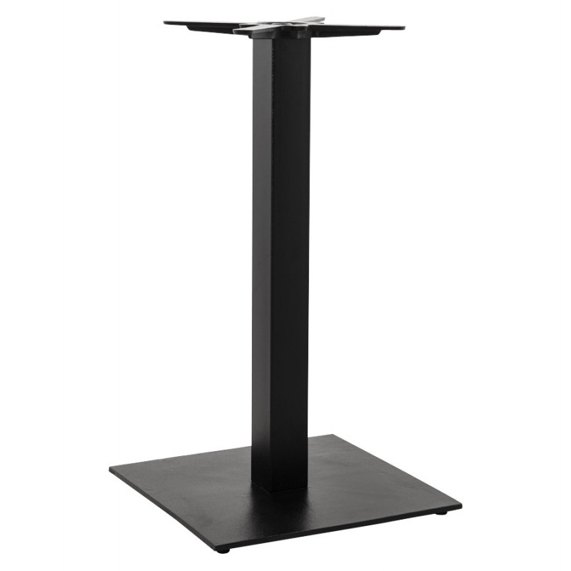 square metal table leg pary 50cmx50cmx90cm black support and table legs