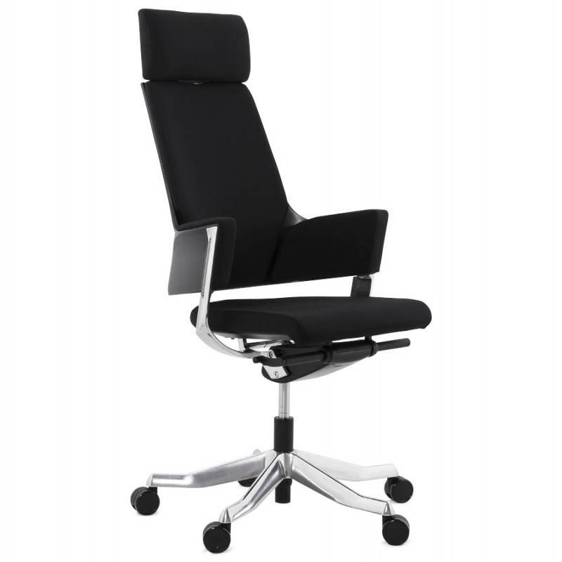 ergonomic design office barbados black fabric armchair office chairs