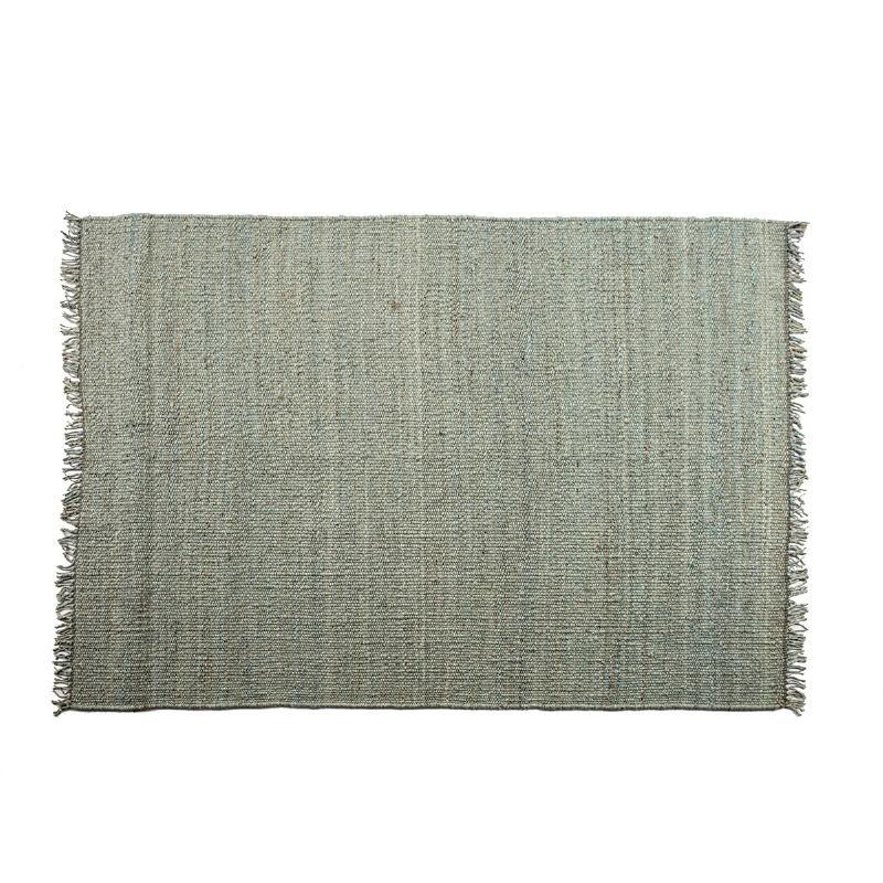tapis rectangulaire 150x1x200 jute gris tapis rectangulaire
