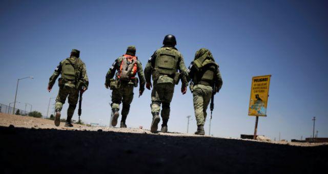 La Guardia Nacional de México en la frontera norte