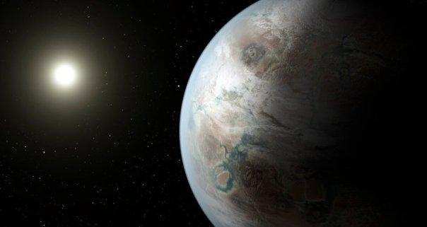 Un exoplaneta (imagen referencial)