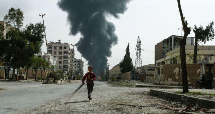 Situación en la ciudad siria de Duma