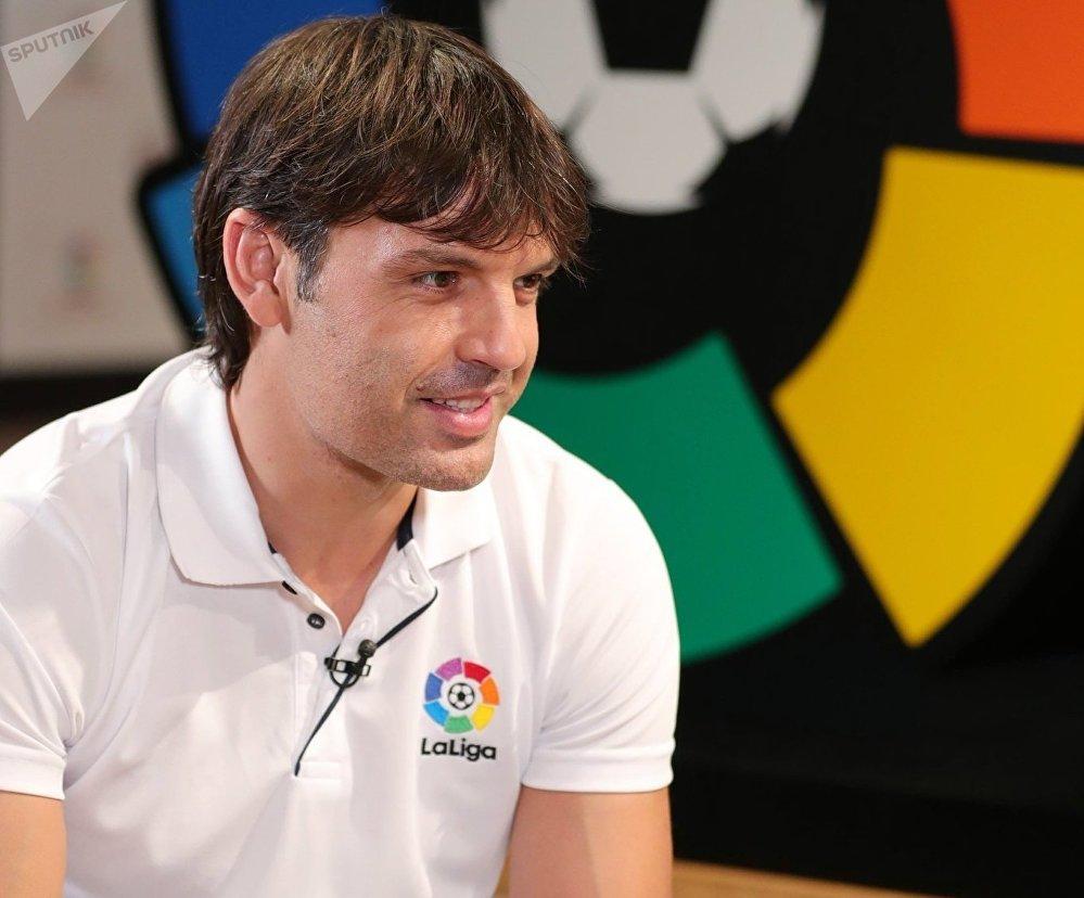 El exfutbolista Fernando Morientes habla con Sputnik