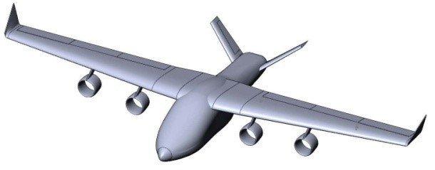 Un dibujo del ACE publicado por el sitio de la Universidad Estatal Tecnológica de la Aviación Civil de Moscú