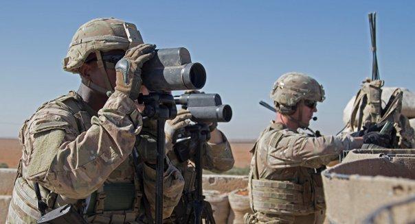 Los soldados estadounidenses en Siria