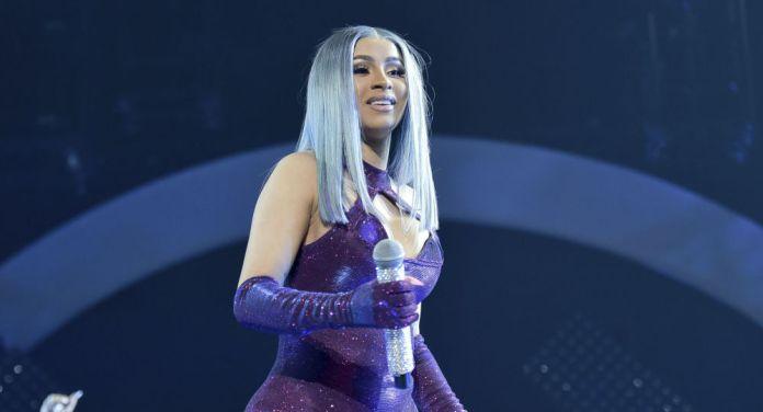 Cardi B, la rapera estadounidense