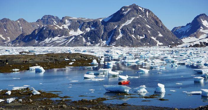 La isla de Groenlandia