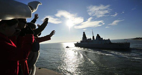 El destructor británico HMS Daring (archivo)