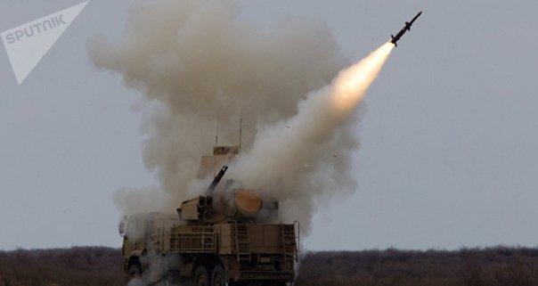 El sistema antiaéreo cañón-misil ruso Pantsir (imagen ilustrativa)