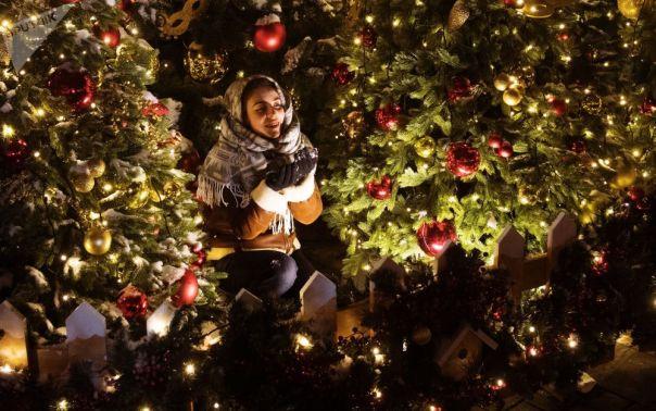 Déjate contagiar por el espíritu navideño con las mejores fotos de la semana