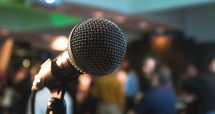 Un micrófono (imagen referencial)