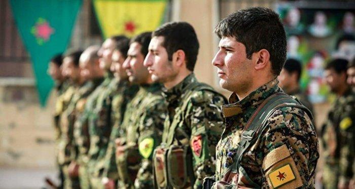 Los combatientes de las Unidades kurdas de Protección Popular (YPG) (imagen referencial)