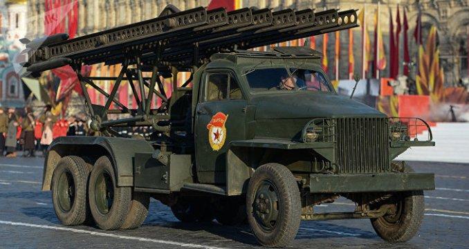El lanzamisiles soviético BM-13 Katiusha