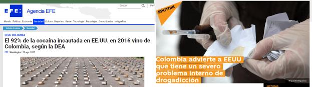 Contradicciones entre EEUU y Colombia