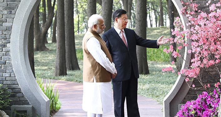 Primer ministro de la India, Narendra Modi, y presidente de China, Xi Jinping