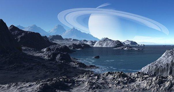 Un paisaje extraterrestre, imagen ilustrativa