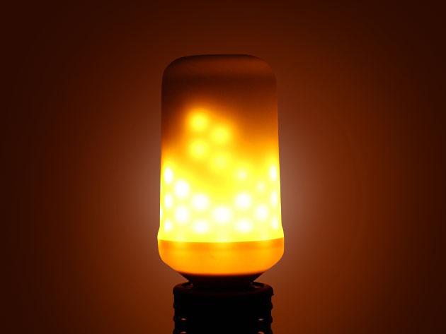 LED Flame Flicker Lightbulb Small StackSocial