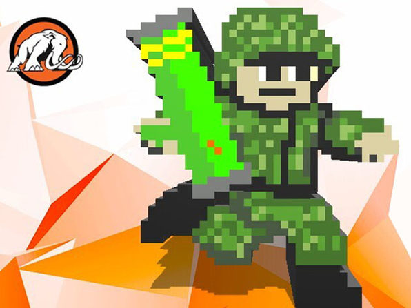 Make a Mega Dude Action Shooter Game in Unity with Pixel Art - Product Image