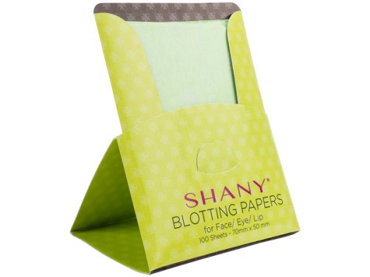 SHANY Makeup Blotting Papers: 4 Packs of 100 Oil Absorbing Paper Sheets for Face - 400 Sheets for $9 5