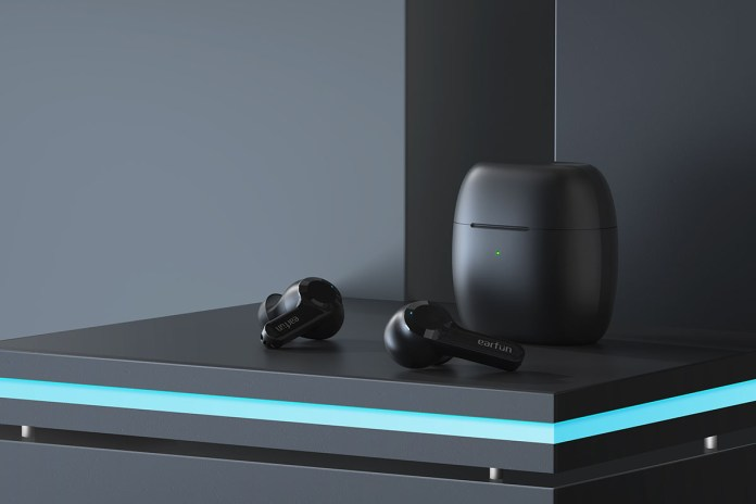 EarFun Air True Wireless BT 5 Earbuds, on sale for $42.97 (57% off)