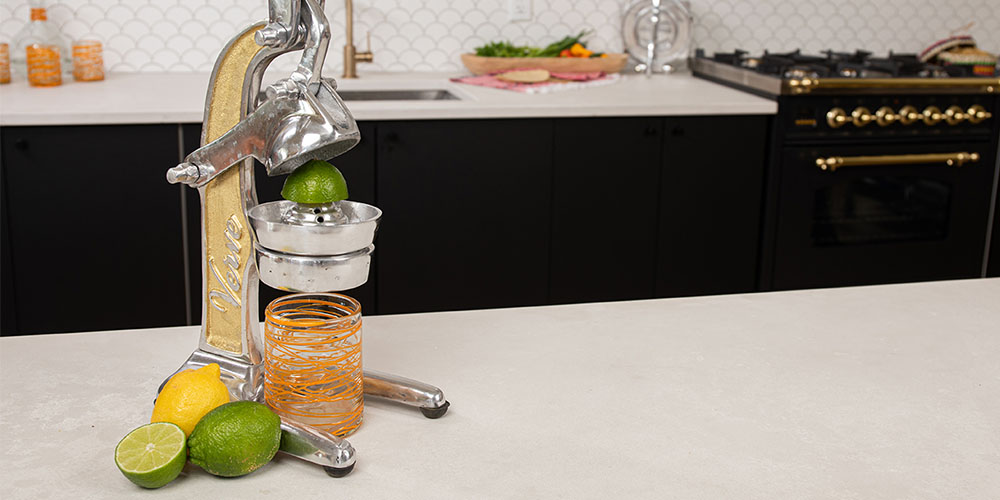 A citrus juicer on a countertop