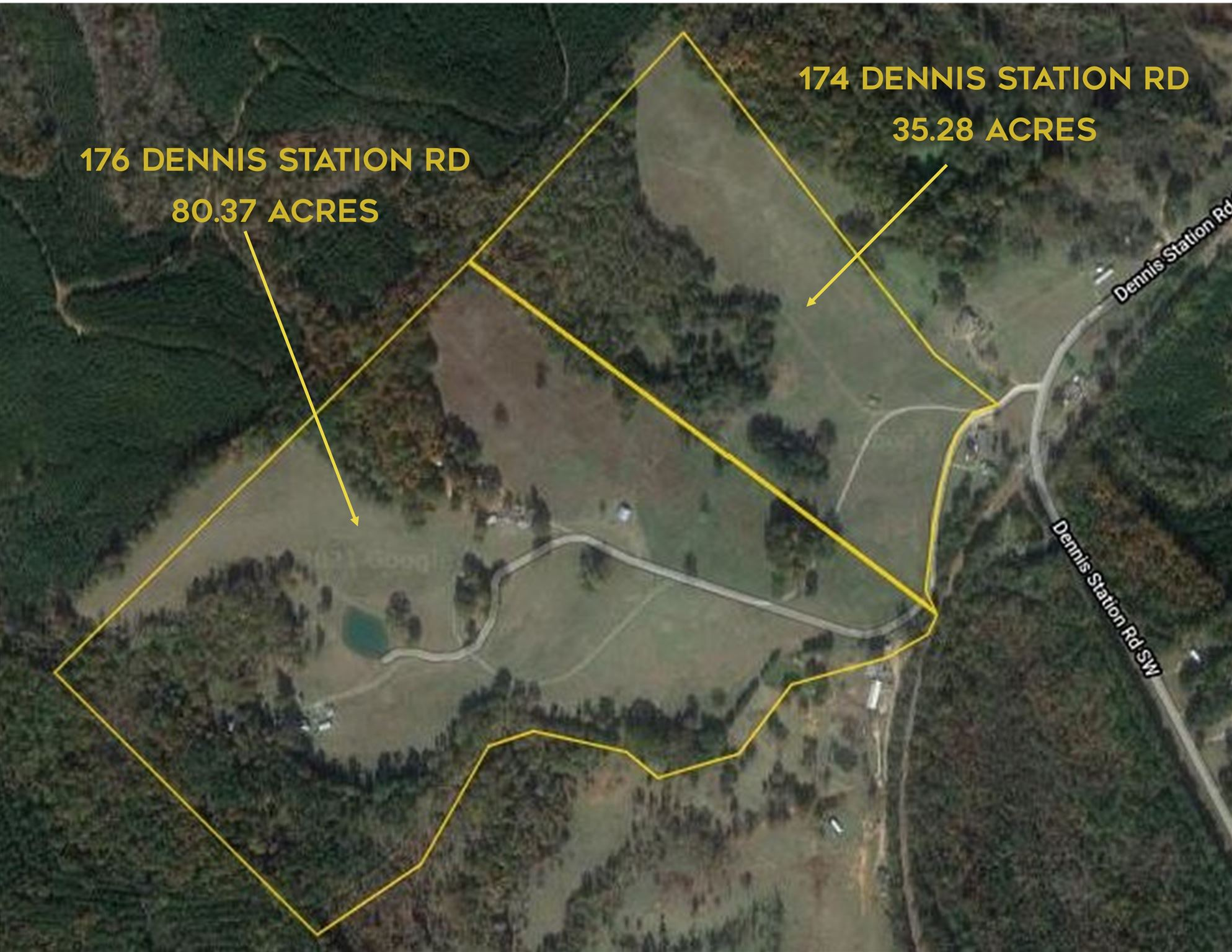 Property for sale at 174, 176 DENNIS STATION ROAD, Eatonton,  Georgia 31024