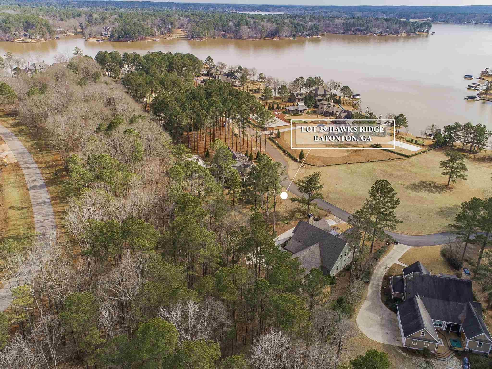 Property for sale at Lot 29 K HAWKS RIDGE, Eatonton,  Georgia 31024