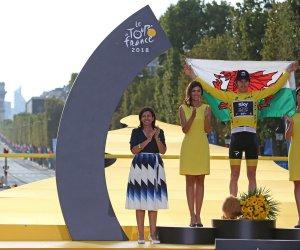 In photos: Geraint Thomas wins the Tour de France Geraint Thomas wins the Tour de France upi th lg