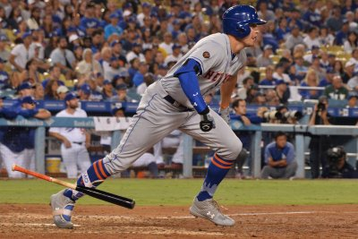 Watch: Mets' deGrom spins gem, Nimmo smacks go-ahead homer vs. Dodgers Jacob deGrom Brandon Nimmo lead New York Mets over Los Angeles Dodgers