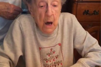 Watch Grandma Loses Teeth With Candle Blow Upi Com